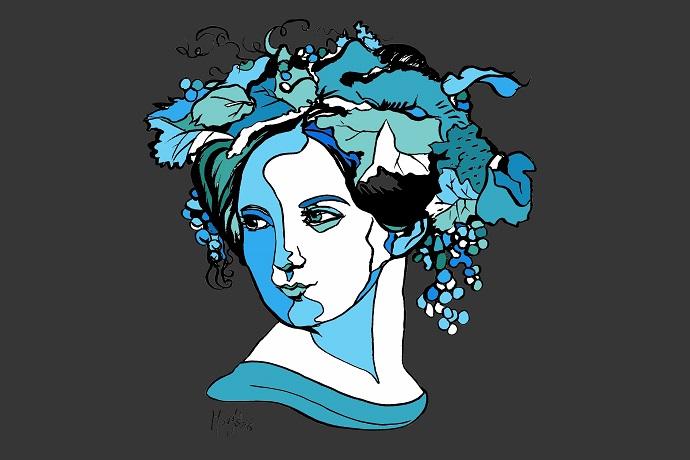 'Fanny Mendelssohn', by Margit van der Zwan