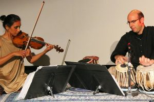 Attariwala and her collaborator, tabla player Shawn Mativesky