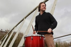 Percussionist Alex Petcu