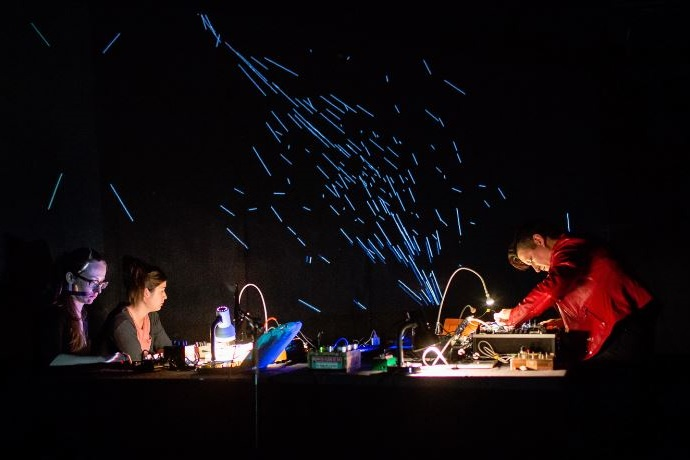 MMessy Oscillators 2.0 perform at the Zagreb Showcase of Contemporary Sound