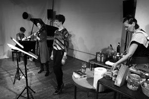 Elisabeth Harnik, Alison Blunt, Gina Mattiello and Heidi Richter in Vienna 2016. Photo credit Periklis Liakakis
