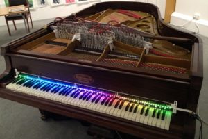 Andrew McPherson's Magnetic Resonator Piano